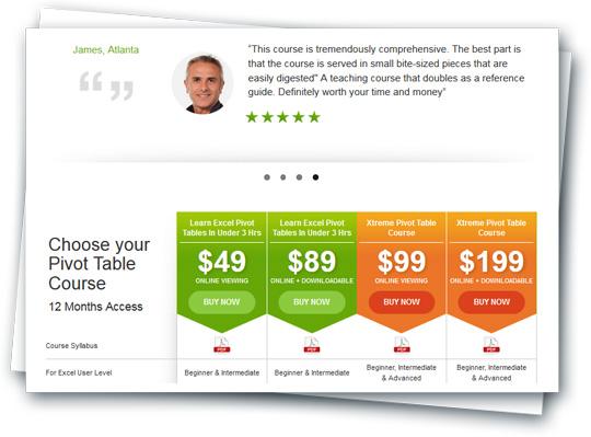 como vender tu curso online excel