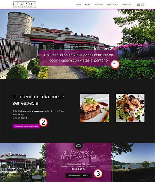 Restaurante en Alava con vistas al pantano