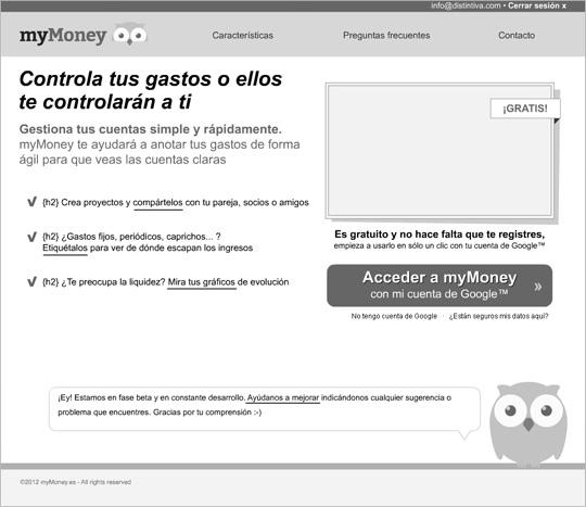 esquema prototipo diseño web