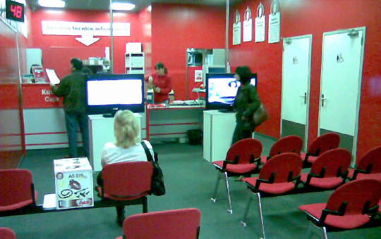 sala de devoluciones del Media Markt