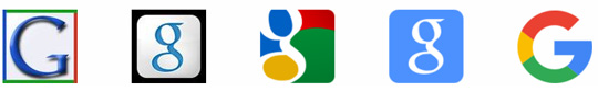 iconos logotipo de Google