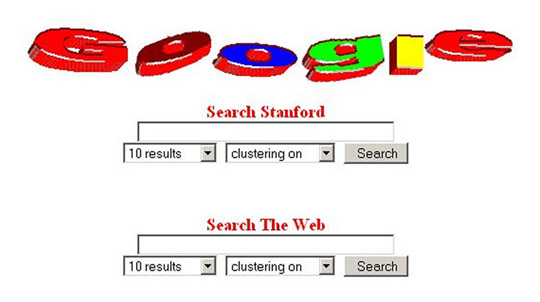 logotipo de Google en Stanford