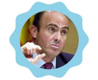 Luis de Guindos recomienda suplemento superfuerza para soportar crisis extremas